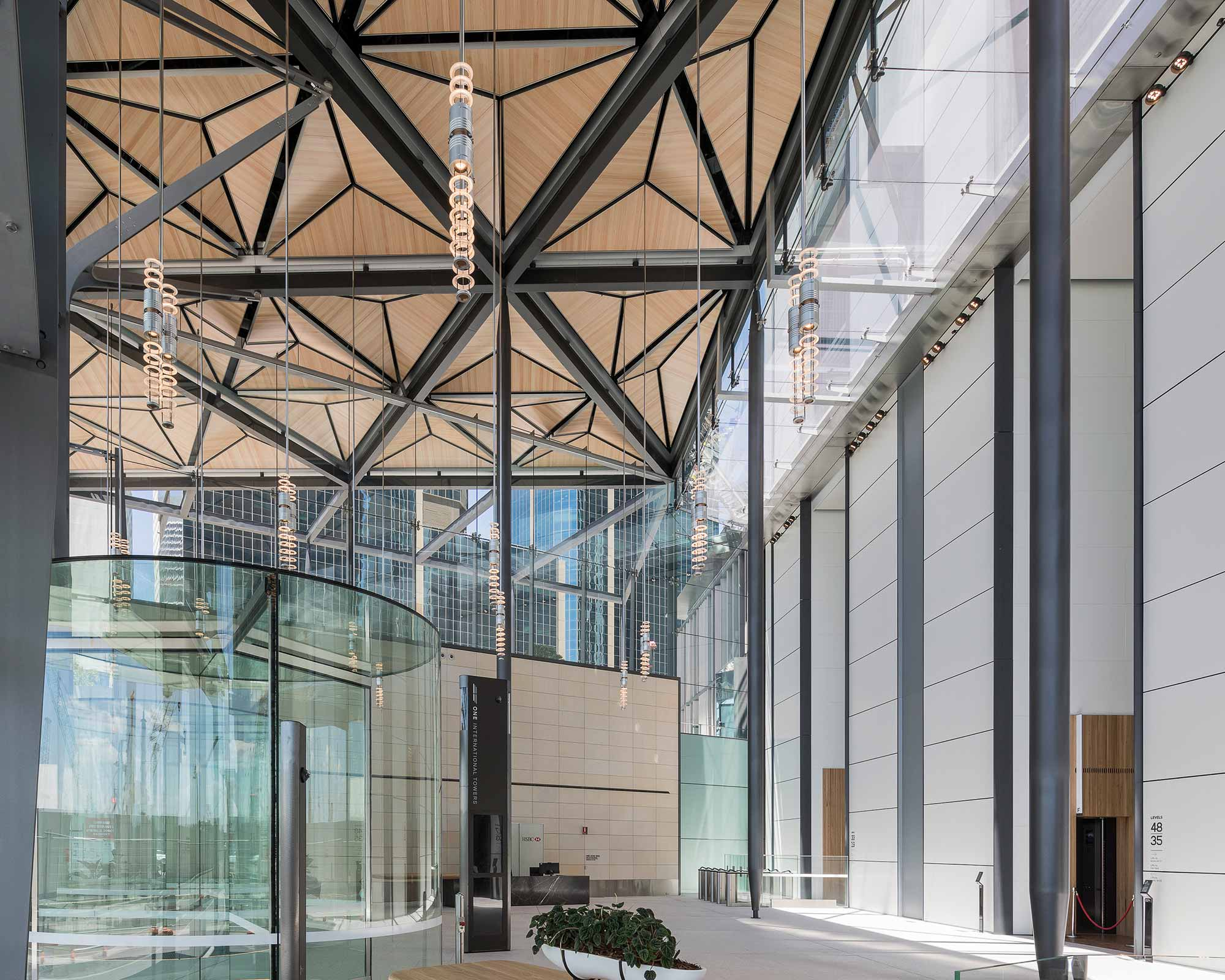 Barangaroo Tower 1: North Lobby