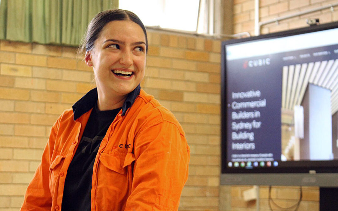 Cubic Apprentice Invited to Speak at 'Yes Women In Construction' Session